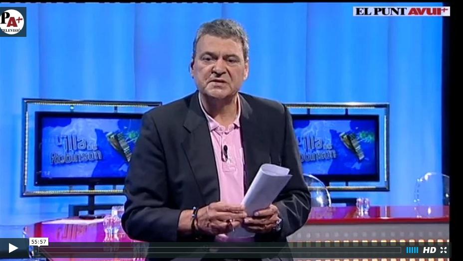 Debat L'Illa de Robinson El Punt Avui TV
