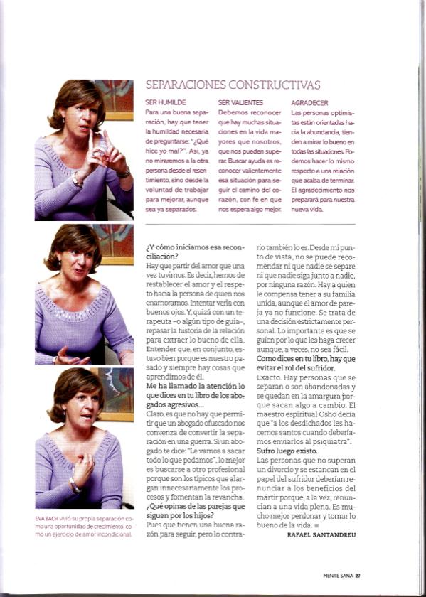 entrevista eva bach MENTE SANA 32 2