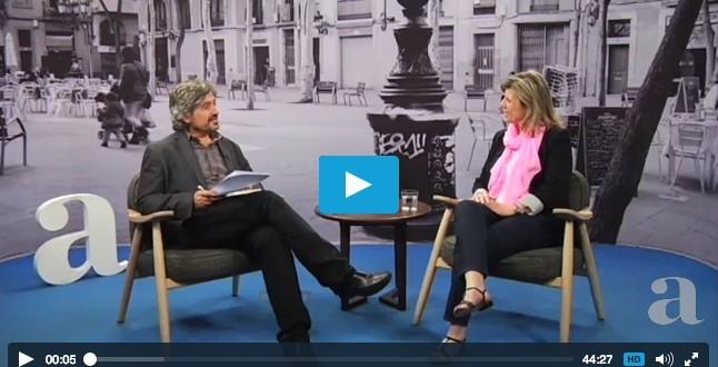 Entrevista ARA TV Carles Capdevila Eva Bach