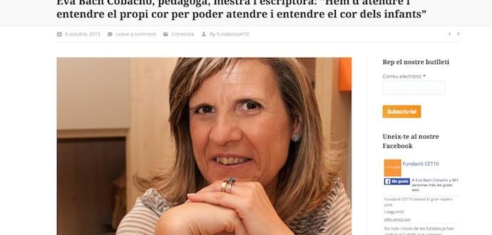 Eva Bach Fundació CET10