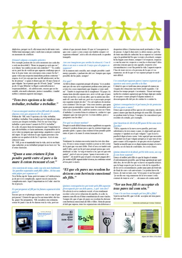Va d'Educació (entrevista juny 2008) Eva Bach 2