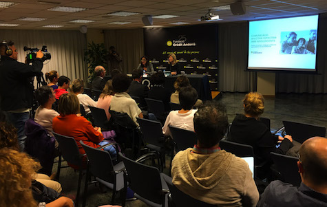 Conferència Andorra Eva Bach